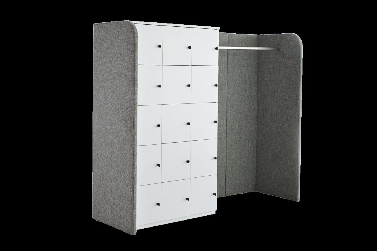 meubles d appoint de la ligne s armoire casiers ophelis. Black Bedroom Furniture Sets. Home Design Ideas