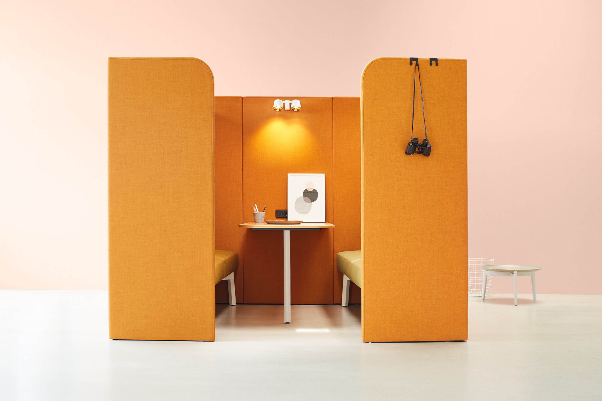 Partitioning System Paravento Hub Ophelis